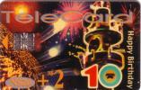 NAMIBIE HAPPY BIRTHDAY CARTE TRANSPARENTE TRANSPARENT CARD RARE - Namibie