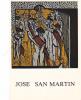 18856 Jose San Martin, Gravures Livres. Galerie Claude Hemery Paris 1982 - Peintures & Tableaux