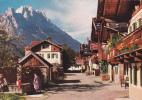 18864 FRUHLINGSTRABE IN GARMISCH PARTENKIRCHEN Mit Groben Waxenstein . Huber Nr 8039 - Garmisch-Partenkirchen