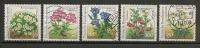 Lot Germany 1991 Complete Set Flowers,bloemen Used/gebruikt - Timbres