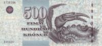 FAEROE P. 27 500 K 2004 UNC - Féroé (Iles)