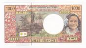 Polynésie Française / Tahiti - 1000 FCFP - Y.042 / 2011 / Signatures Barroux-Noyer-Besse - Neuf / Jamais Circulé - Papeete (Polynésie Française 1914-1985)