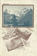 AK Mürren Bahn Lauterbrunnen Werbung Biscuits Morges 1904 #01 - BE Berne