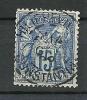 "YT 90 "" Sage Type II 15c. Bleu ""1877-80 Cachet à Date PHILIPPEVILLE - CONSTANTINE - 1876-1898 Sage (Type II)"