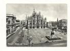 Cp, Italie, Milano, Piazza Del Duomo, Voyagée 1959 ? - Milano
