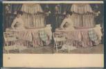 Stéréo, Cartoscope, Femmes Au Bain, - Stéréoscopiques