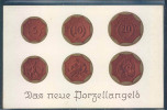 Monnayes En Porcelaine, Porzellangeld, - Monnaies (représentations)