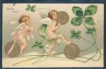 Monnayes, Bonne Année, - Monnaies (représentations)