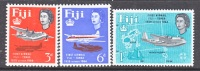 Fiji 208-10  *  AIR MAIL SERVICE - Fiji (...-1970)