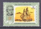 Fiji 294   *  EXPLORER  CAPT. COOK - Fiji (...-1970)