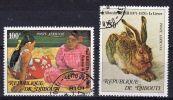 25.9.1978, Flugpostmarken, Michel-Nr. 227 - 28, Gestempelt, Los 40876 - Dschibuti (1977-...)