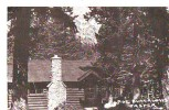 B5238 Jasper Pine Bungalow Cabins Not Used Perfect  Shape - Jasper