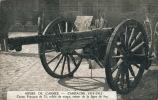 GUERRE 1914-18 - Musée De L'Armée - Canon Français De 75 Criblé De Coups, Retour De La Ligne De Feu - Guerre 1914-18