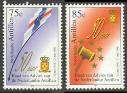 Nederlandse Antillen 1998 Mi 961 ** State Flag + Arms / Staatsflagge - Regierungsbeirat / Raad Van Advies Ned. Antillen - Postzegels