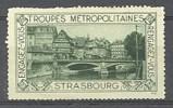 Vignette Troupes Métropolitaines Strasbourg (67) Engagez-vous Rengagez-vous - Erinnophilie