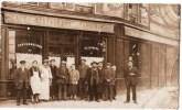 CARTE PHOTO : PARIS RUE D´AMSTERDAM DEVANTURE CAFE RESTAURANT PARMENTIER MAISON GRONDON RUE 75009 - Arrondissement: 15