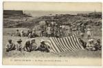 BATZ - La Plage Vue Sur Les Rochers. Très Belle Animation. - Batz-sur-Mer (Bourg De B.)