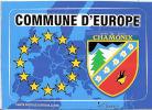 Blason Adhésif  Commune D´ Europe Chamonix Mont Blanc Mt 74 Haute Savoie - Non Classés