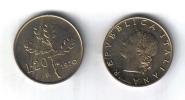 RedH - REPUBBLICA , 20 Lire Del 1970 - 1946-… : Repubblica