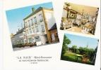Le NOUVION EN THIERACHE 02 Hotel De La Paix Carte Dentelée Véritable Photo - France