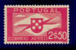 Portugal - 1936 Air Mail 2$50 - Af. CA 03 - MH - Nuovi