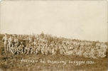 CARTE PHOTO MANOEUVRES DE L'AISNE 1931 - Manovre