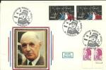 """CDG 134/151 """" Exposition Charles De Gaulle """" 59 DUNKERQUE Le 18 Juin 83 - De Gaulle (Général)"""