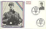 "CDG 138/151 "" 4e Exposition Des Timbres De La Libération ""  67 - STRASBOURG 15-16 NOV. 1975 - De Gaulle (Général)"