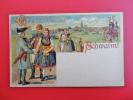 Gruss Von Der    Schwalm Undivded Back  --- ------- -------   Ref  349 - Customs