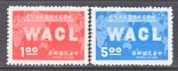 Rep.of China 1523-4   *  W.A,C.L. - 1945-... Republic Of China