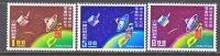 Rep.of China 1637-9  **  SPACE  SATELLITE - 1945-... Republic Of China
