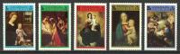 Antigua 1973 ( Christmas - Paintings By David, Stomer, Raphael, Tiepolo & Murillo ) - Complete Set - MNH (**) - Religión