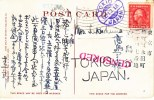U.S.  Postal History  U.S. To Tokyo CENSORED  1918 - United States