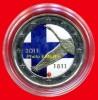 2 Euros COULEUR Commémorative FINLANDE 2011, Colorisée (1ère) En Capsule - Finlandia