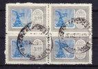 ARGENTINIEN 1928 VIERERBLOCK  MICHEL 331 GESTEMPELT - Unclassified