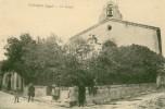 CPA - Vergèze - Le Temple - Vergèze