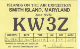 QSL-CARDS - AK 95949 USA - Maryland - Smith Island - Radio Amatoriale
