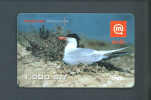 SLOVENIA  -  Mobitel Remote Phonecard/Bird As Scan - Slowenien
