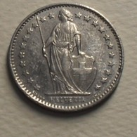 1980 - Suisse - Switzerland - 1/2 FRANC - KM 23a.1 - Suisse
