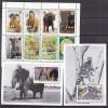 PGL U0038 - ANTIGUA Yv N°1663/70+ BF ** ANIMAUX ANIMALS - Antigua E Barbuda (1981-...)