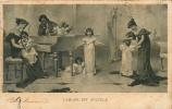 Jeu De CACHE CACHE - L' Amour Est Aveugle - 2 Scans - Cartes Postales