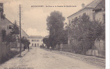 18931 AUDINCOURT - .LA GARE ET LA CASERNE DE GENDARMERIE. Lib Moderne