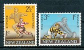 NEW ZEALAND Mi.Nr. 475-476 Sport Rugby -MNH - Rugby