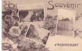 18940 AUDINCOURT Souvenir D'audincourt ( Carte Multivues )  .CLB Lardier Besançon - Non Classés