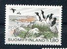 Finlande :  1983 - 1,80 M -  Yvert No. 884  Golfe De Finlande , Pingouins  *** - Finlande