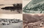LOT DE 4 CARTES - Postkaarten