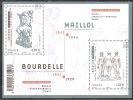"""France 2011 """"A. BOURDELLE/A. MAILLOL"""" Neuf Qualité Luxe - Mint/Hinged"""