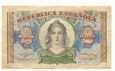 Republique Espagnole  Billet De 2 Pesetas B 3205231 - [ 5] Department Of Finance Issues