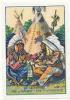 Le Calumet - Das Calumet (Friedenspfeife)  / ( Indien Far-west Indiens Tipi Pipe Calumet De La Paix )  //  IM 30-KPA/2 - Nestlé