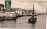 LORIENT DEPART DU BATEAU DE GROIX L'HOPITAL MARITIME 56 - Lorient
